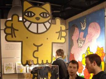 Monsieur Chat at the Arteum