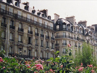 Apartment buildings in the 16th arrondissement, Paris