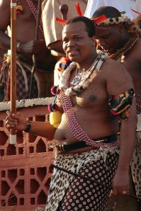 King Mswati III of Swaziland, 2006. Photo: Amada44