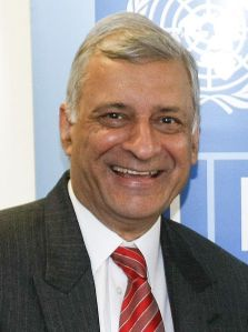 Kamalesh Sharma, 2009. Photo: UNDP