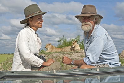 The Last Lions - Dereck and Beverly Joubert. Photo: Wildlife Films Botswana / Mike Meyers